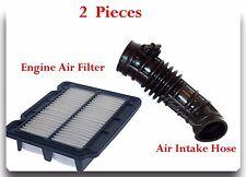 2 Pcs Engine Air Intake Hose & Air Filter Fits:Chevrolet  Aveo Aveo5 Pontiac G3