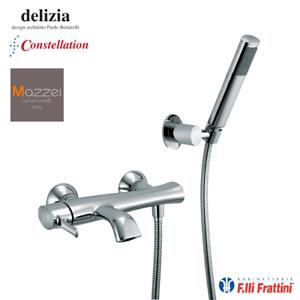 RUBINETTO MISCELATORE MONOCOMANDO VASCA BAGNO F.LLI FRATTINI DELIZIA 58002 CROMO