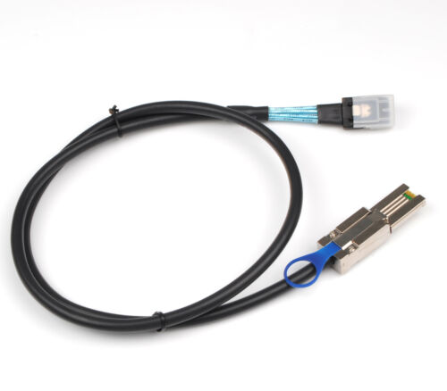 Mini SAS SFF-8088 to Mini SAS SFF-8087 Adapter Transfer Cable 1M