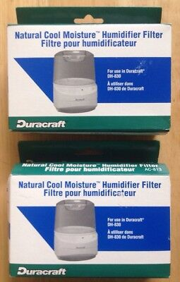 TWO (2) DURACRAFT AC 813 HUMIDIFIER FILTER FILTERS for DURACRAFT DH 830, GENUINE | eBay