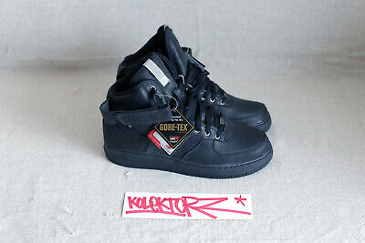 NIKE AIR FORCE 1 HI HIGH N2WINTER BLACK GORETEX GORE TEX 9.5