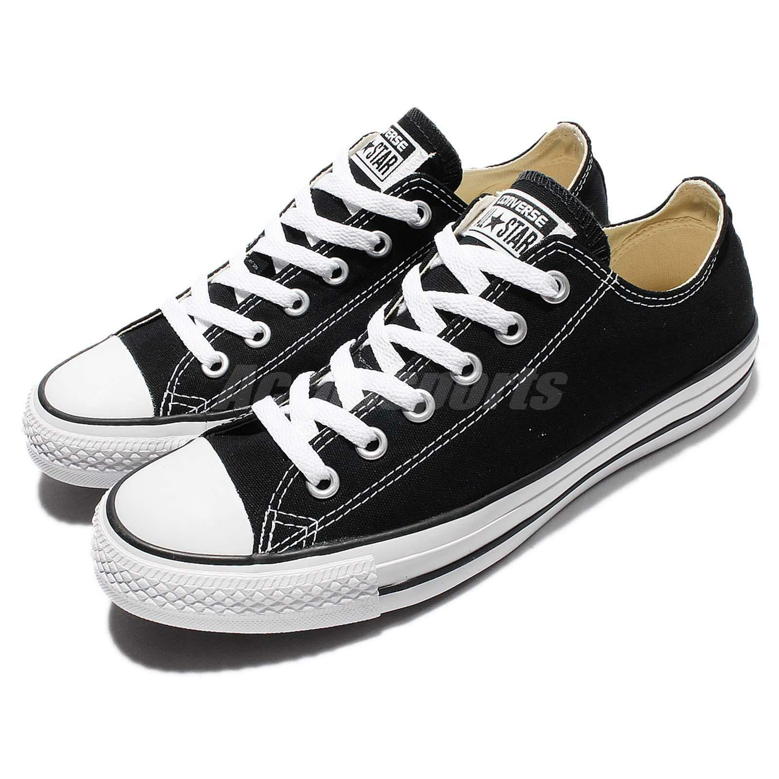 Converse Chuck Taylor All Star OX Oxford Noir Blanc Low Homme Femme Chaussures M9166C