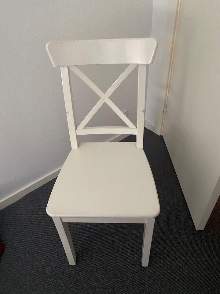 Spisebordsstol, Træ, Ikea – dba.dk – Køb og Salg af Nyt og Brugt