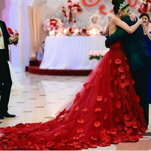 La Imagen Se Esta Cargando Vestidos Novia 2016 Rojo De