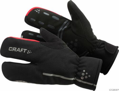 Craft Siberian Split Finger Glove Black SM