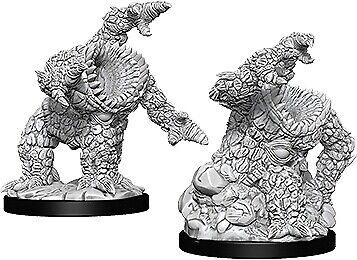 WZK73350 Dungeons /& Dragons Nolzur`s Unpainted Minis Xorn