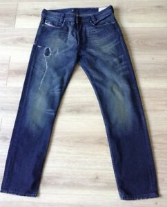 4f8d02e7 DIESEL HEEVEN DIRTY THIRTY JEANS 1978 2008 SIZE 33 X 32 DISTRESSED ...