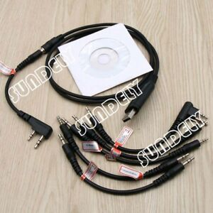 Motorola-CP200-CP340-CP360-CP380-CT150-CT250-6-in-1-USB-Programming-Cable
