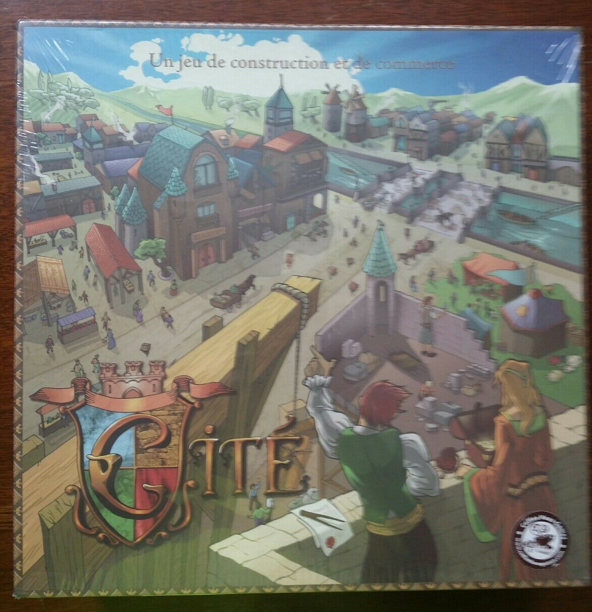 Le Joueur Boardgame Cite (City ) New Unopened