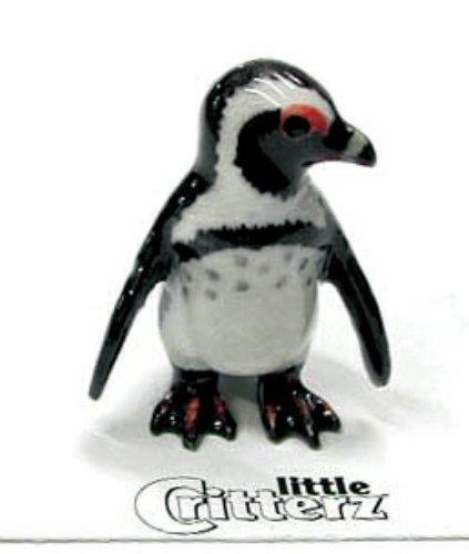 "Little Critterz Miniature Porcelain Animal Figure African Penguin /""Simon/"" LC212"