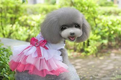 Summer Various Pet Puppy Small Dog Cat Lace Dress Apparel Clothes High Quality