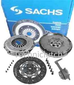 Kit-De-Embrague-Csc-y-un-Sachs-Doble-Masa-Rigida-Volante-para-un-VW-Golf-MK-v-5-2-0-TDI