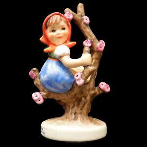 VTG-1990-Goebel-Hummel-Figurine-Apple-Tree-Girl-141-TMK-7-TMK7-Box-W-Germany-COA