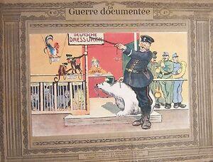 WW1-Photos-Lithographs-Fouqueray-Jonas-La-Guerre-Documented-1914-1918-No-No-47