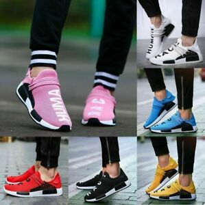 Womens-Sneakers-Casual-Sports-Running-Tennis-Shoes-Breathable-Trainers-Pink-Size