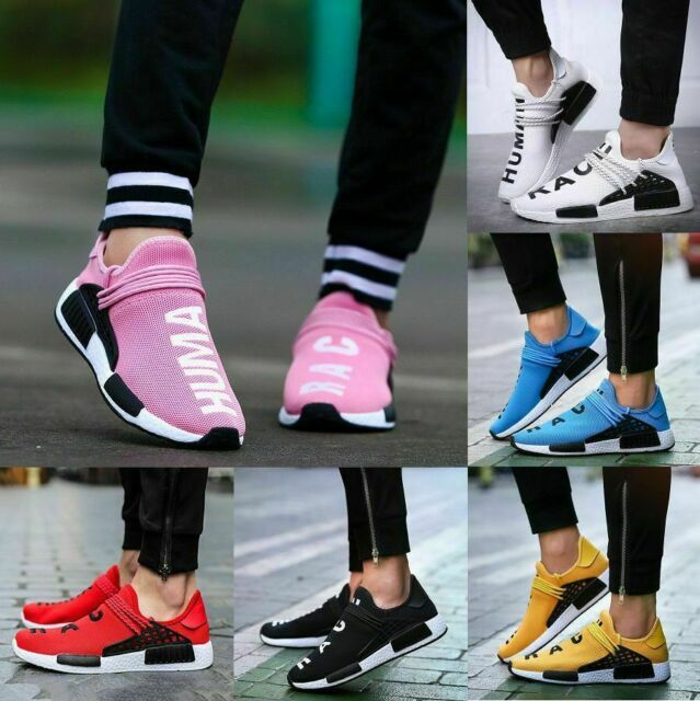 Womens Sneakers Casual Sports Running Tennis Shoes Mens Breathable Trainers Pink