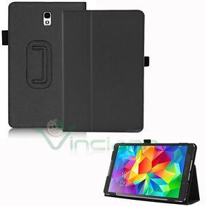 Custodia-eco-pelle-NERA-Stand-per-Samsung-Galaxy-Tab-S-8-4-T705-cover-book