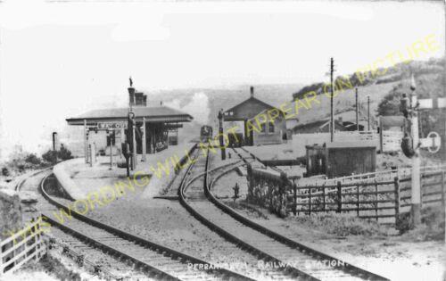 4 Newquay Line. Mithian Goonhavern Perranporth Railway Station Photo