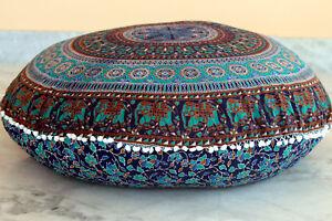 Elephant Mandala Floor Pillows 32\