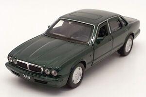 Tayumo 1/36 escala Tire & Go 36100020-Jaguar XJ6-Verde Esmeralda