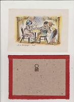 """GRAVURE GERMAINE BOURET - """"ET DU CHAMPAGNE...BRUT !"""" - 12.5 x 17.5 cm -"""