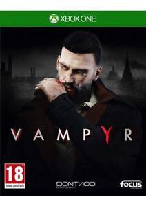 Vampyr (Xbox One) New & Sealed UK PAL Free UK Postage 3512899118706
