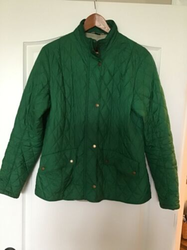 Barbour Women's Green Quilted Jacket - Size 14