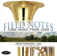 John Manning - Field Notes: Tuba Music From Iowa [new Cd] Jewel Case Packaging on sale