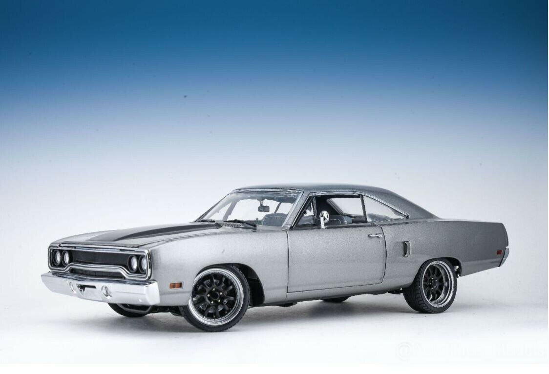 GMP 1970 Plymouth Road Runner-Il Martello-Tokyo Drift-FAST AND FURIOUS 1 18
