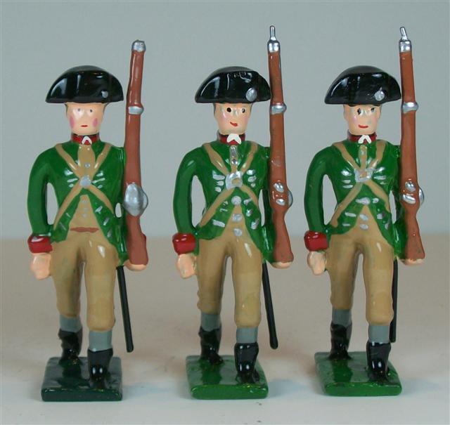 Hampton - A257A - Green Mountain Boys - 3 pieces - AWI