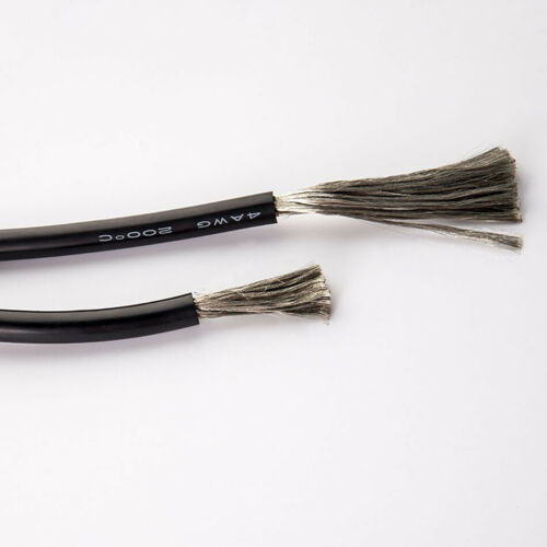 UL Stranded Wire Silicone Flexible Cables Black 2//4//6//7//8//10//12//13//14//15//16-30AW