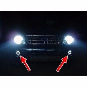 Image Is Loading White Halo Fog Lamps Angel Eye Driving Lights