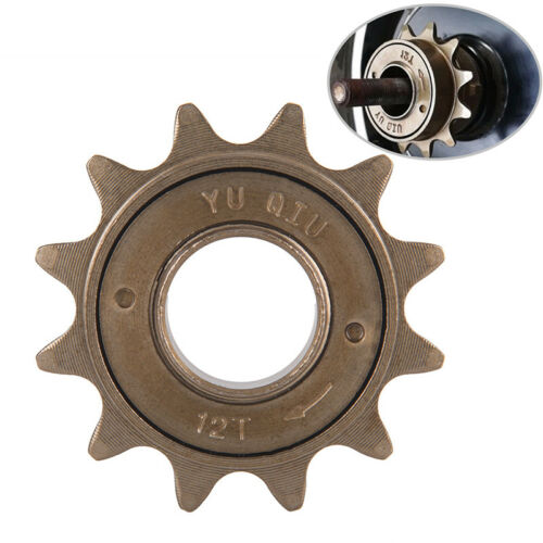 12T Teeth Single Speed Freewheel Sprocket Gear Bicycle Accessories Freewh EA