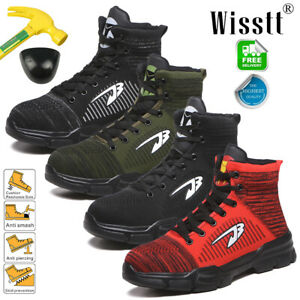 Mens ESD Safety Shoes Steel Toe Work