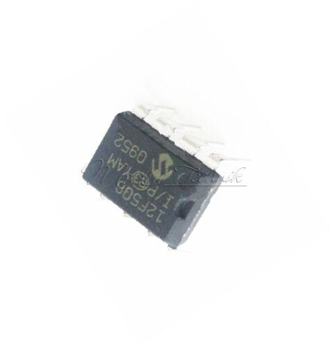 PIC12F508 PIC12F508-I//P MIC IC MCU 8BIT 768B FLASH 8-DIP