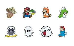 Details about Super Mario Bros 3 Collector Pins Complete Set of 8 - Switch  3DS Wii Snes NES