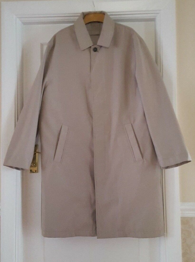 Ciro Citterio Rain Trench Coat  with Removable Lining size med