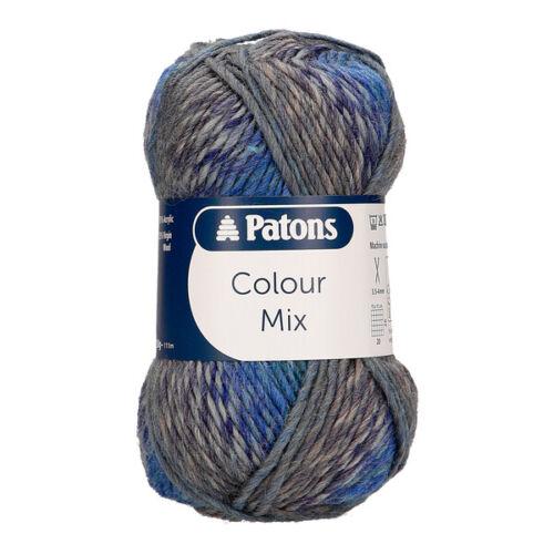 Patons Color Mix 50g Bolas Dk Hilo de Punto Varios Tonos