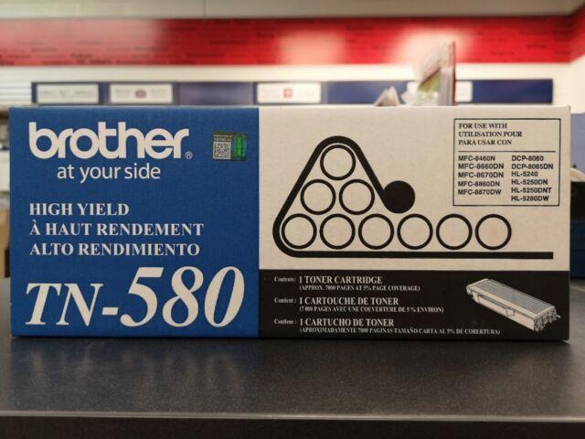 [CLEARANCE] Brother TN580 Original Toner Cartridge