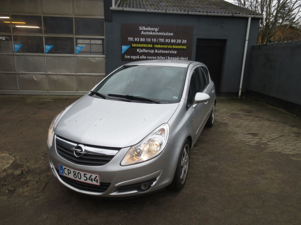 Opel Corsa 1,3 CDTi 90 Enjoy Diesel modelår 2007 km 252000