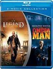 I Am Legend & Omega Man 2pc With Will Smith Blu-ray Region 1 883929198719