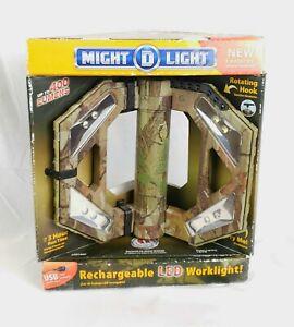 Might-D-Light-10-Watt-400-Lumen-Camo-Rechargeable-Folding-LED-Work-Light