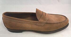 GH Bass & Co. Tan Leavitt Men's Penny Loafer Shoes