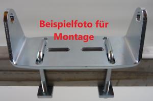 Kielrollenhalter Halterung für 200mm Sliprolle Kielrolle Bootsauflage EDELSTAHL
