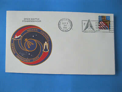 1995 Space Shuttle Envelope STS-69 Endeavour NASA Kennedy Astronaut