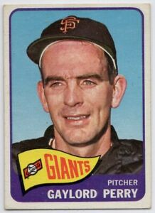 1965-Topps-193-Gaylord-Perry-VG-EX-San-Francisco-Giants-FREE-SHIPPING
