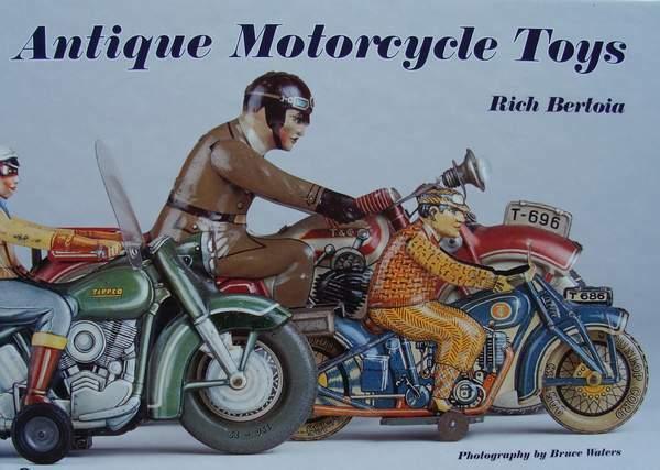 LIVRE BOOK   JOUETS DE MOTOCYCLETTES ANCIENNES moto,tôle,tinplate,motorcycle toy