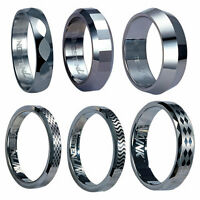 Wholesale Package 24pcs Tungsten Carbide Rings Assorted Styles And Sizes 3.49ea