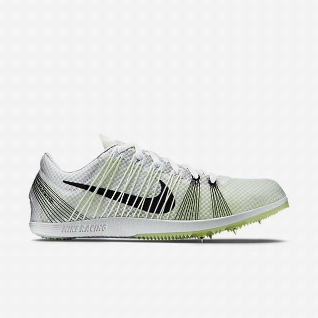 120 NIKE ZOOM MATUMBO 2 TRACK & FIELD DISTANCE SHOES 526625 WHITE VOLT  120 4.5