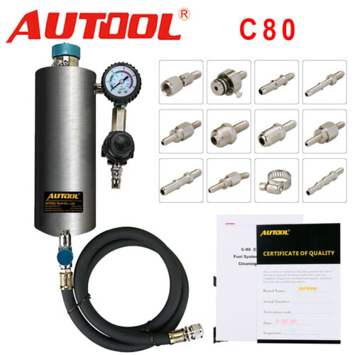 Car Fuel Injector Injection Cleaner Throttle Cleaner Non-Dismantle Washing Tool